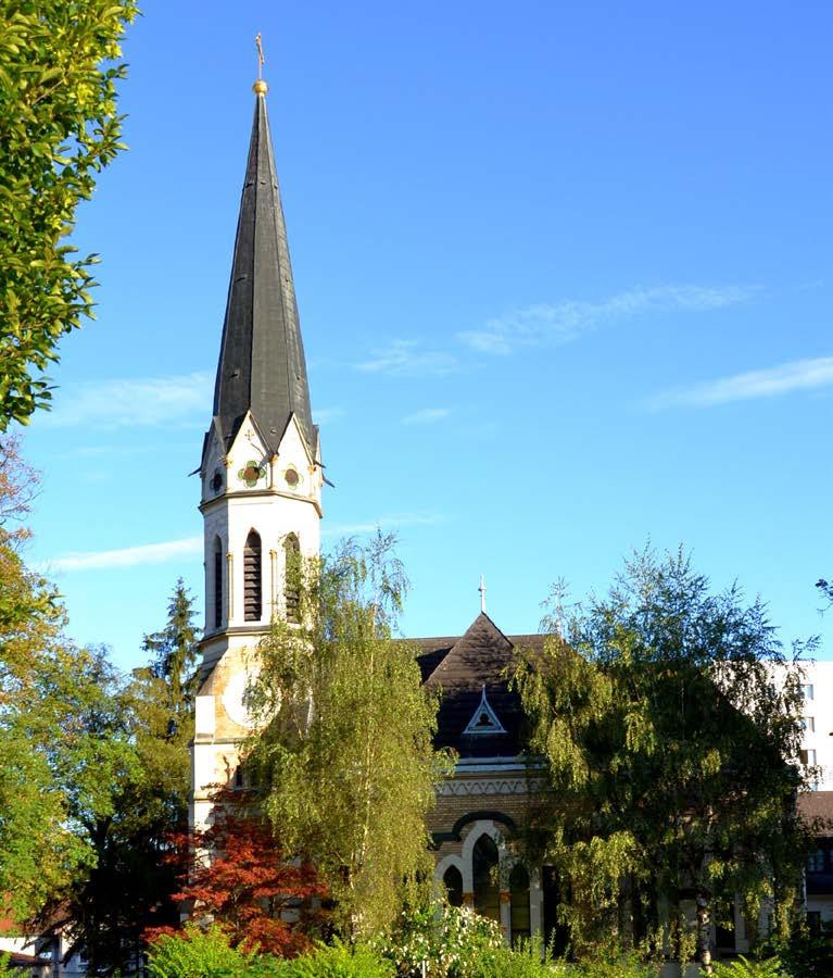 evangelische Kirche am Bahnhof in Steyr